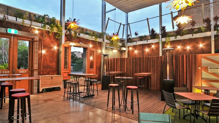 The Gilbert Street Hotel beer garden © Courtesy of the Gilbert St Hotel