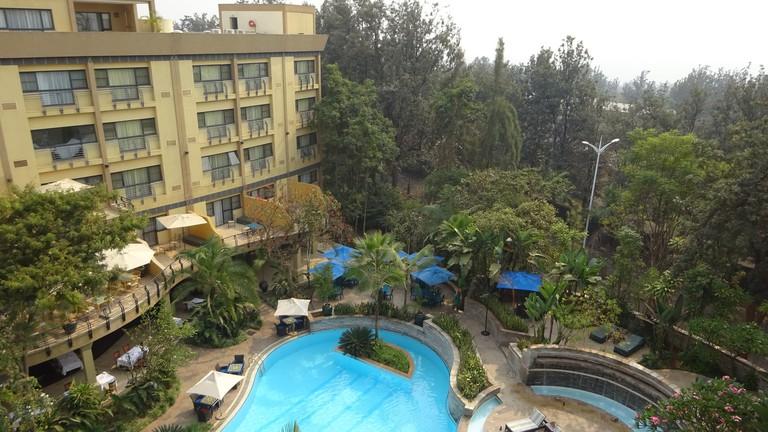 The pool at the Serena Hotel | © Dan Dickinson / Flickr
