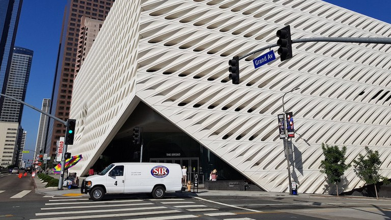 The Broad in Los Angeles, designed by Diller Scofidio + Renfro.