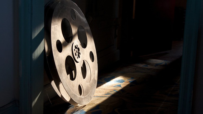Vintage film reel © Nic McPhee / Flickr