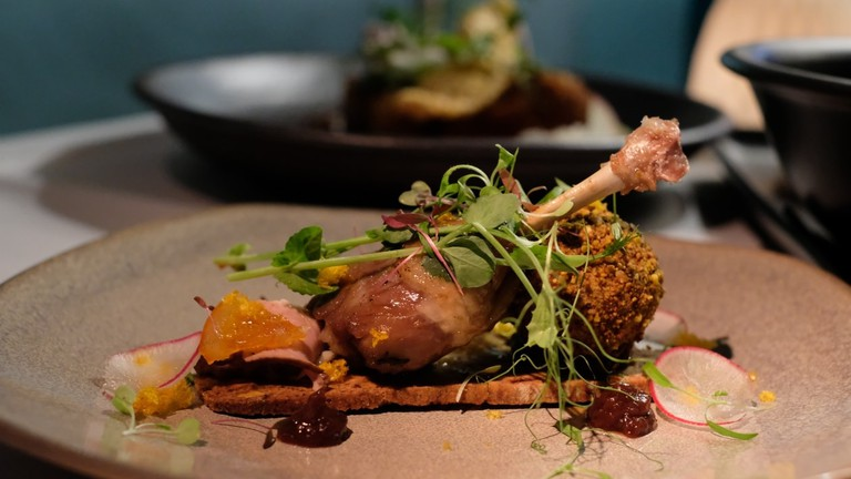 Duck, duck, goose is a signature Tamarind dish