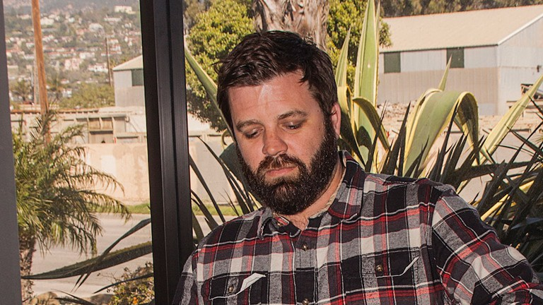 Owner Drake Whitcraft of Whitecraft Winery in Santa Barbara.