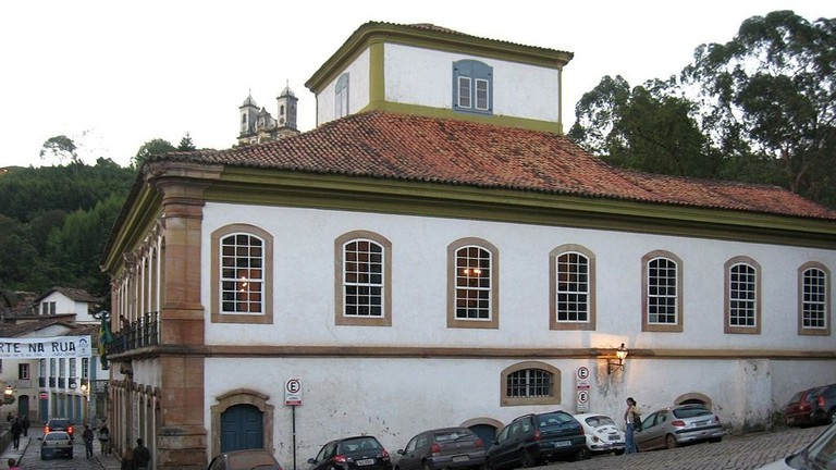 museums in Ouro Preto, Brazil