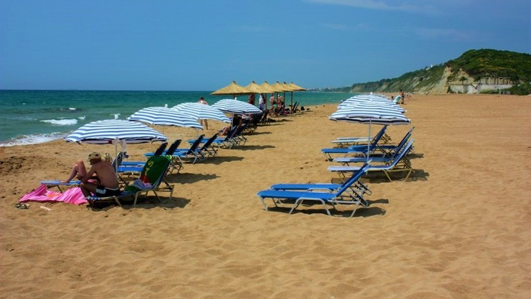 Marathias beach, Corfu