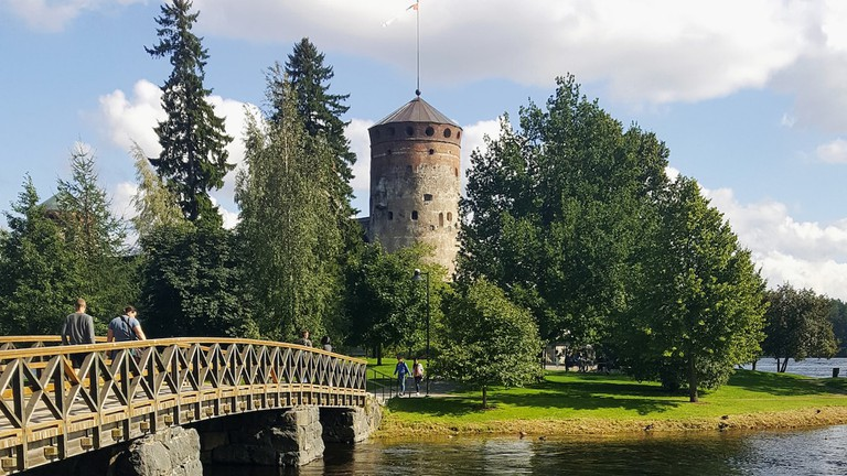 Olavinlinna is one of Finland's most visited tourist attractions.