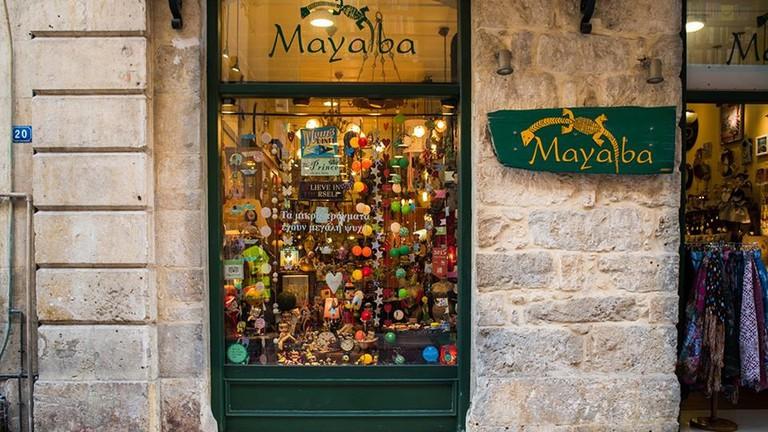 Mayaba store in Chania, Crete
