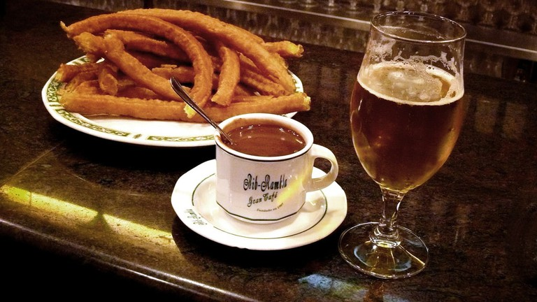 Make Café Levante your top spot for churros, beers and cocktails