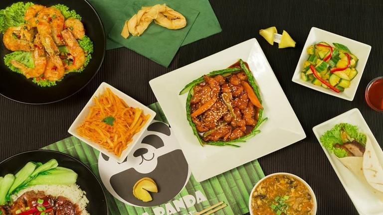 Sneak peak of the menu at Da Panda