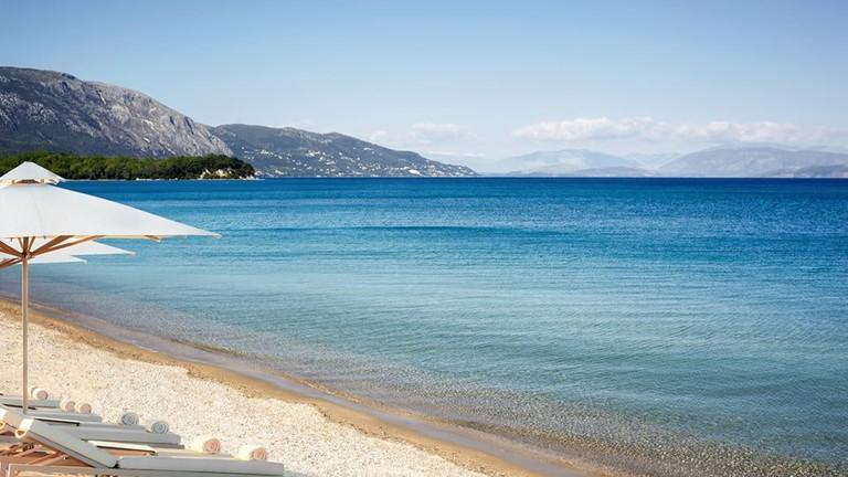 Dassia beach, Corfu