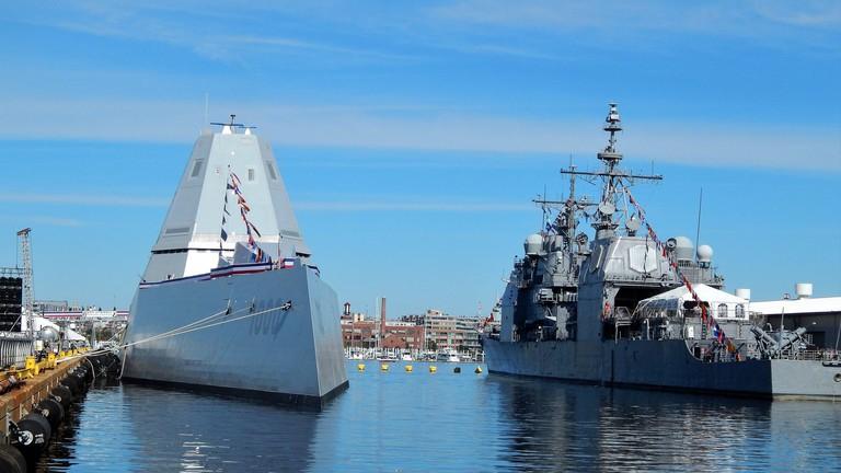 Navy ships, Maryland Fleet Week, Baltimore, MD