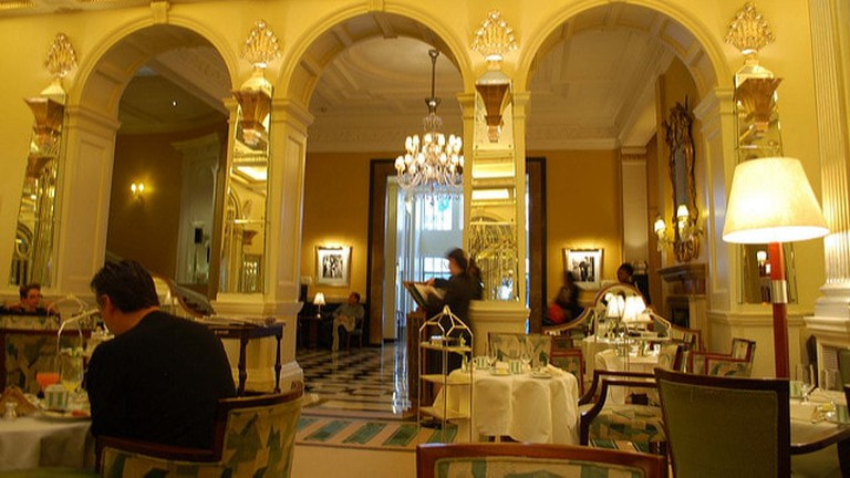 Claridge's is an excellent spots for a bite to eat
