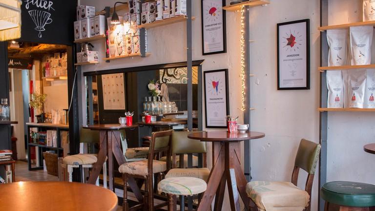 Artisan Roast Coffee Shop in Edinburgh