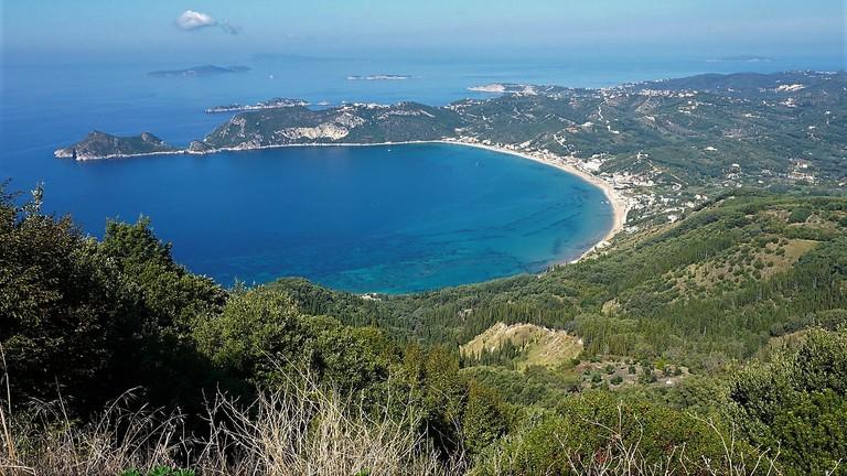 Agios Georgios Pagon Bay, in Kerkyra (Corfu)