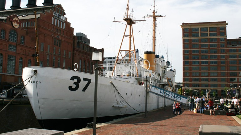 USCGC Taney, Historic Ships, Baltimore, Maryland