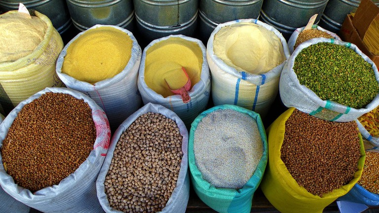Bulk buy cereals, grains and spices © Troy