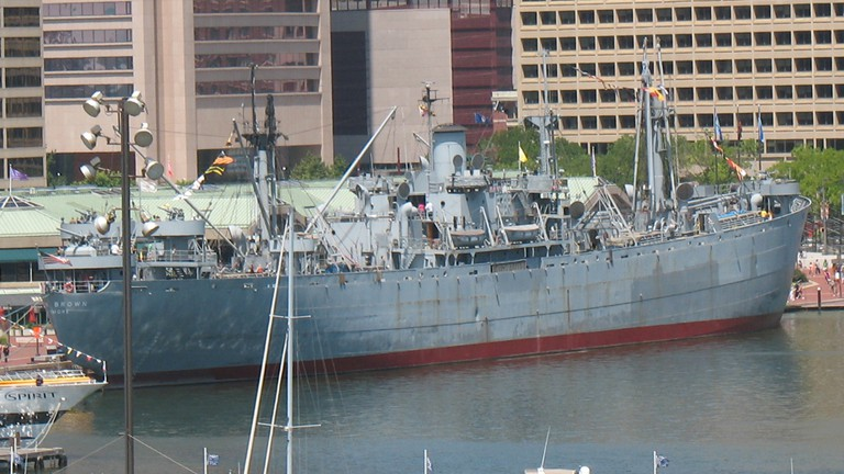 SS John W. Brown, Historic Ships, Baltimore, Maryland
