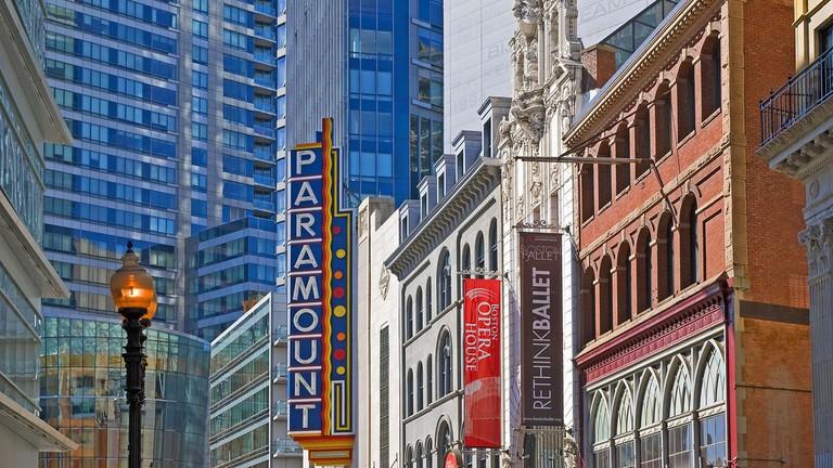 paramount theatre boston theatre