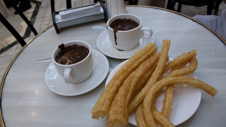 La Guapa is said by some locals to do the best churros in Cádiz