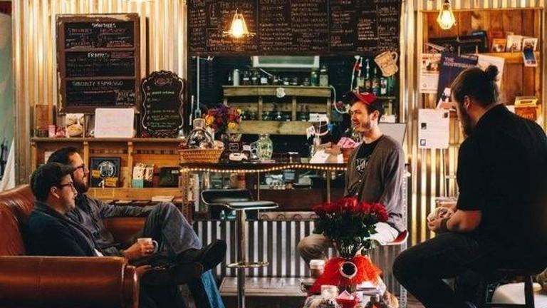 Brickhouse Coffee, Greenwood   Courtesy of Brickhouse Coffee Co