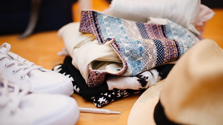 Hats-shoes-table-cloth