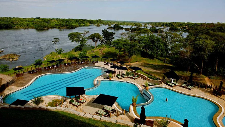 Chobe Safari Lodge swimming pool