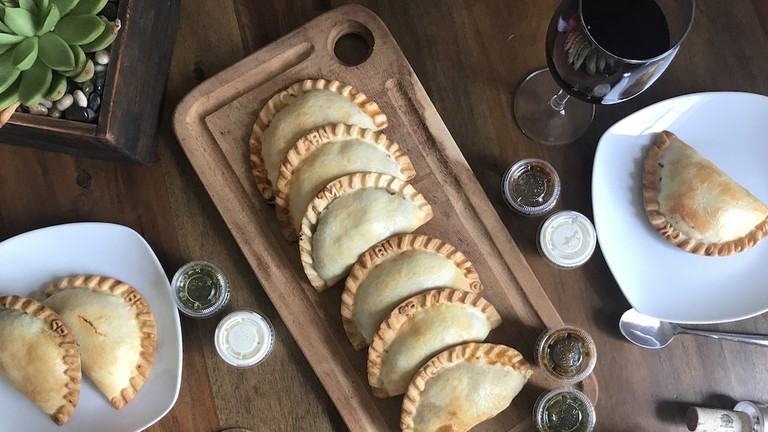 Paraná Empanadas Argentinas at Liberty Public Market offers a variety of flavors.