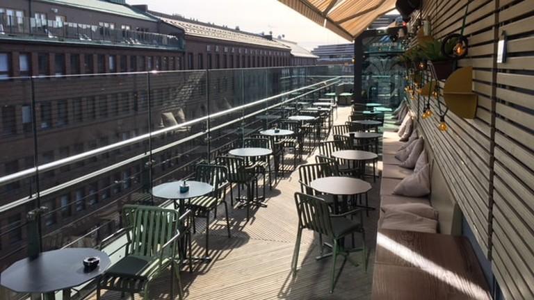 Best terrace view at Helsinki.
