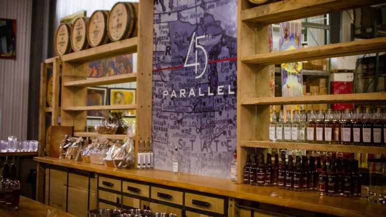 45th Parallel Distillery | © Courtesy of 45th Parallel Distillery