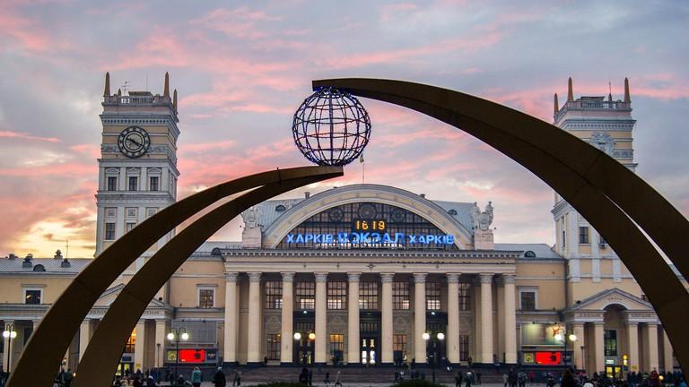 Kharkov Railway Station