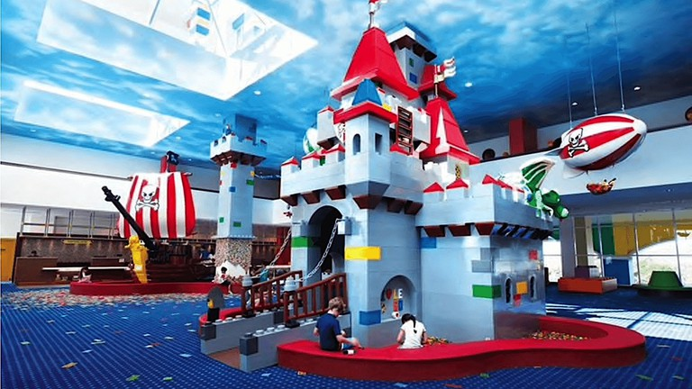 Play area of Legoland Malaysia Resort