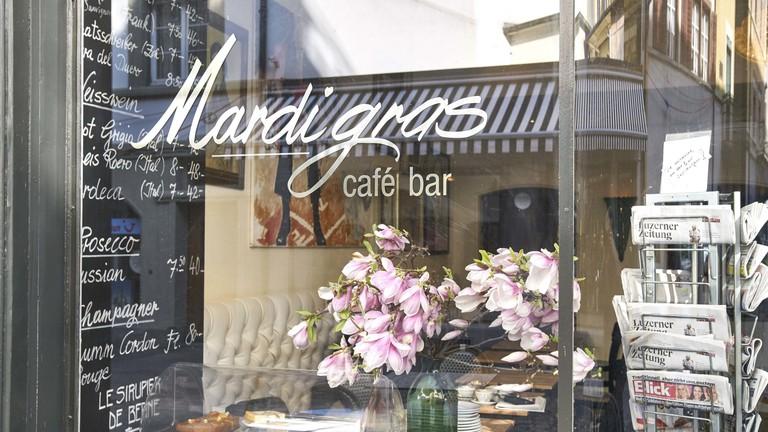 Mardi Gras cafe, Lucerne