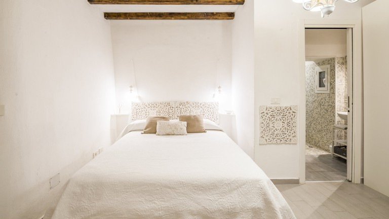 This romantic listing in Monti, Rome, is perfect for couples