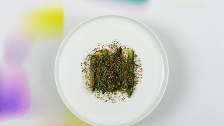 Nostra grilled cucumber dish