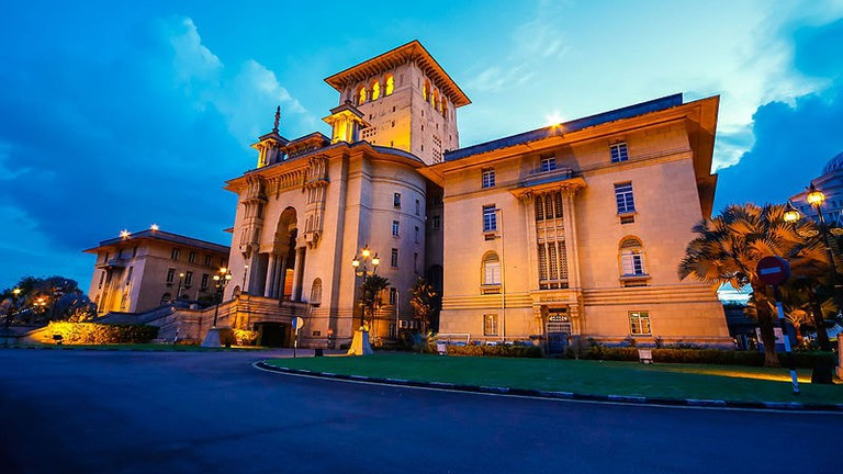 Perspective View of Sultan Ibrahim Building