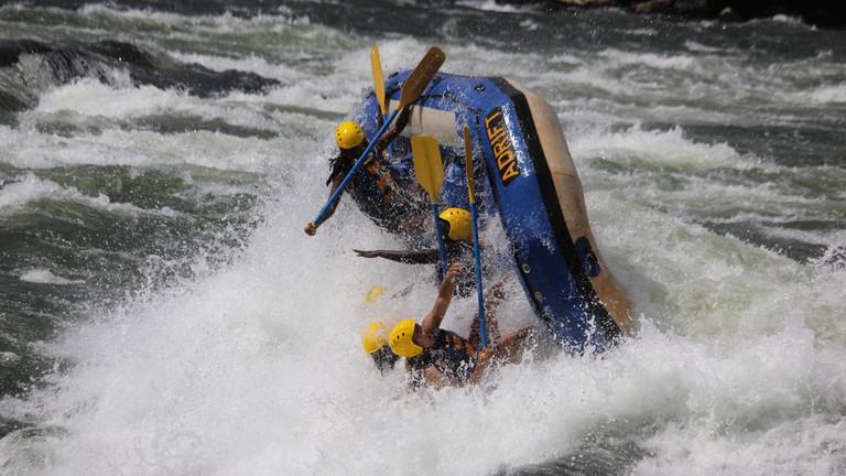 Rafting River Nile