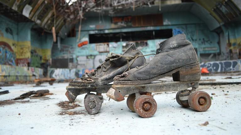Red Hill Skate Arena © darkday / Flickr