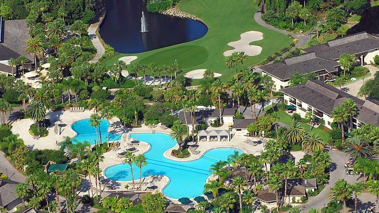 Saddlebrook Resort Pool, Wesley Chapel, Florida