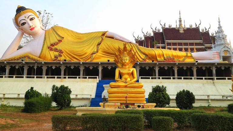 Buddha of Denchai District, Phrae, Thailand