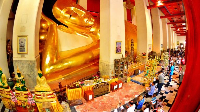 Buddha statue at Wat Phra Non