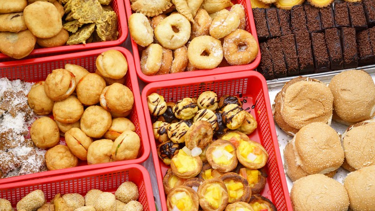 """Malaysian home cooked local cakes or """"kueh"""""""