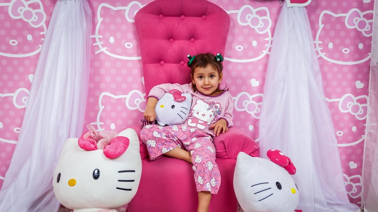 Girl Hello Kitty pajamas