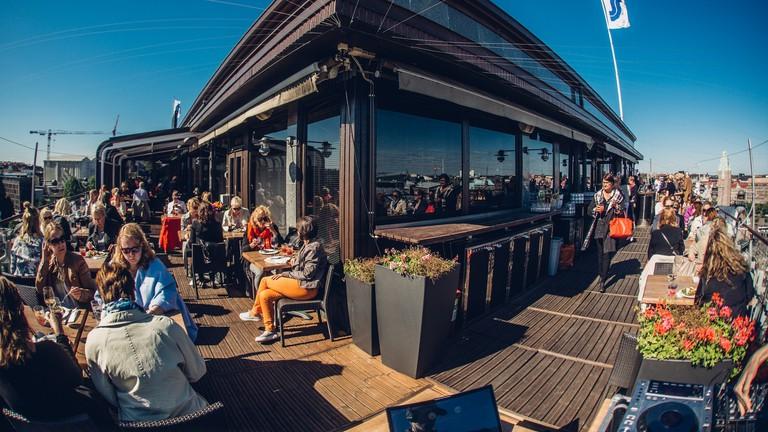 Sokos Hotel Vaakuna Helsinki summer terrace