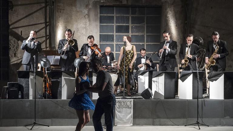 Dancing the night away to the live brass band at Spirit de Milan, Italy | Courtesy Spirit de Milan