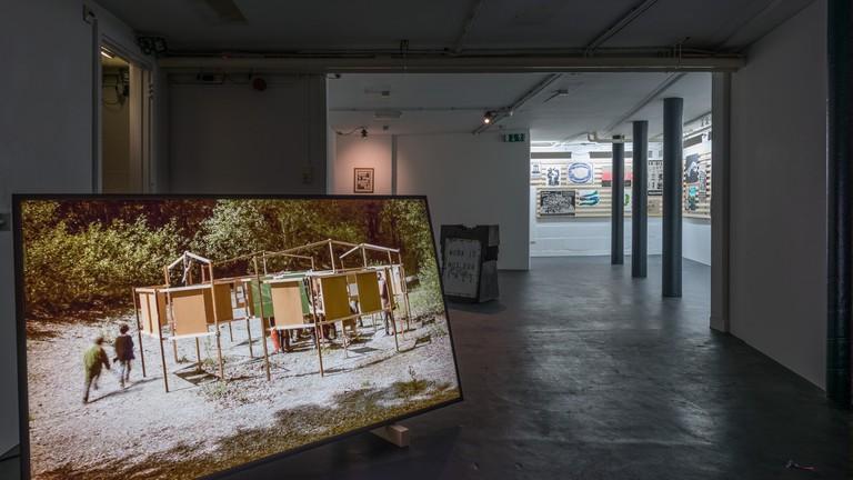 Exhibition by Tamás Kaszás, at De Appel Art Center, Amsterdam, January 2018