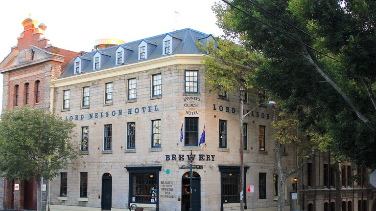The exterior of the Lord Nelson Brewery Hotel © The Lord