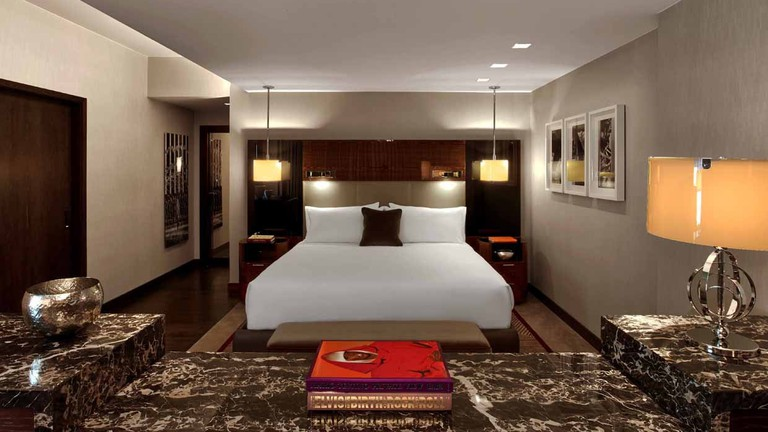 Rooms at The Joule are cozy and stylish -- the perfect combination for a boutique property