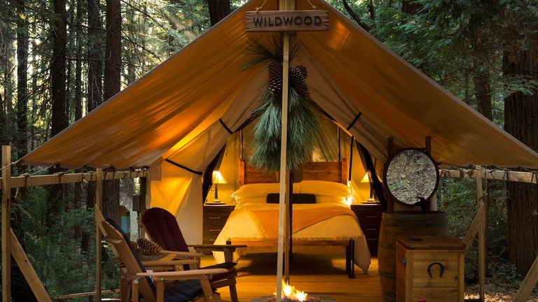 Glamping at Ventana Big Sur.