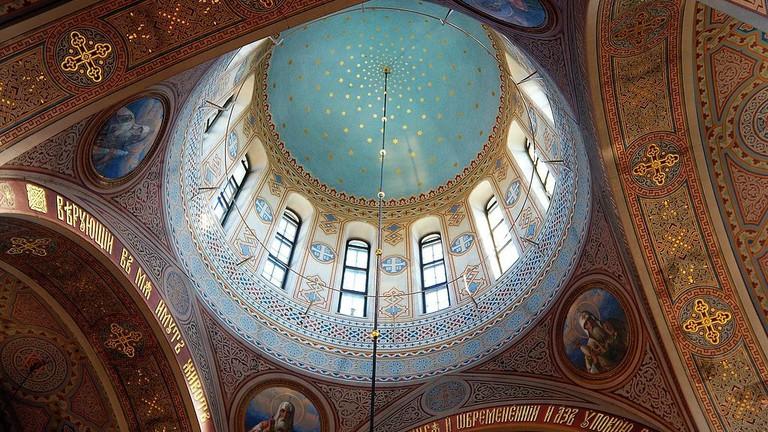 Helsinki's Uspenski Cathedral interior.