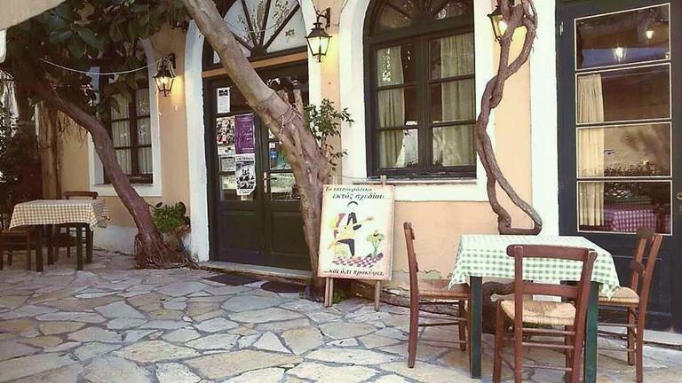 To Tsipouradiko Ektos Shediou in Corfu