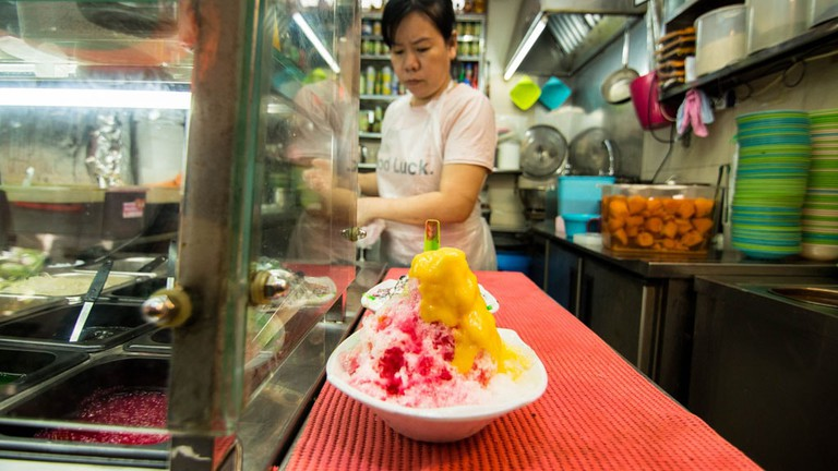 Singapore Tiong Bahru Food Centre Ice Kachang